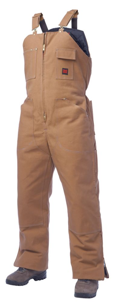 Insulated Bib Overall Brown Small