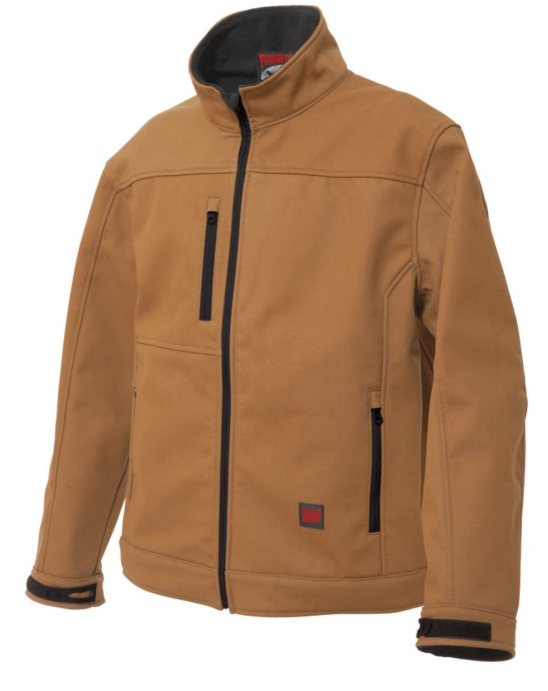 Softshell Jacket Brown 3X Large
