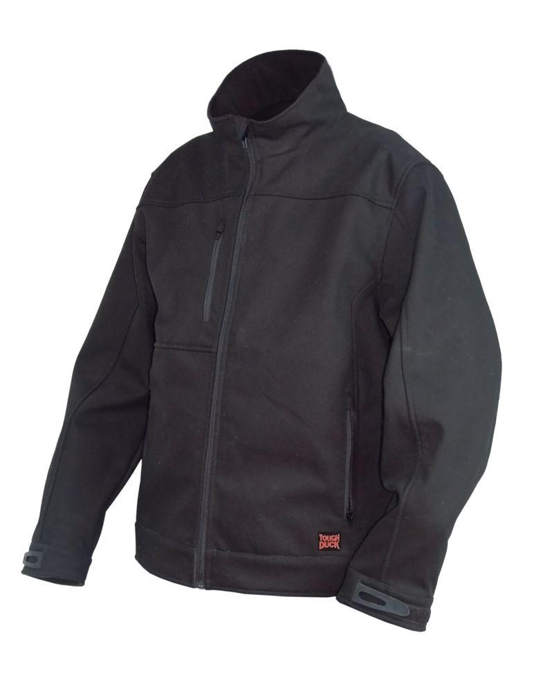 Softshell Jacket Black 2X Large