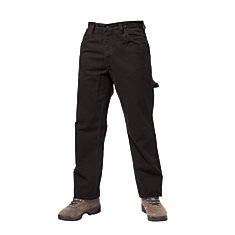 Unlined Work Pant Black 42W X 32L