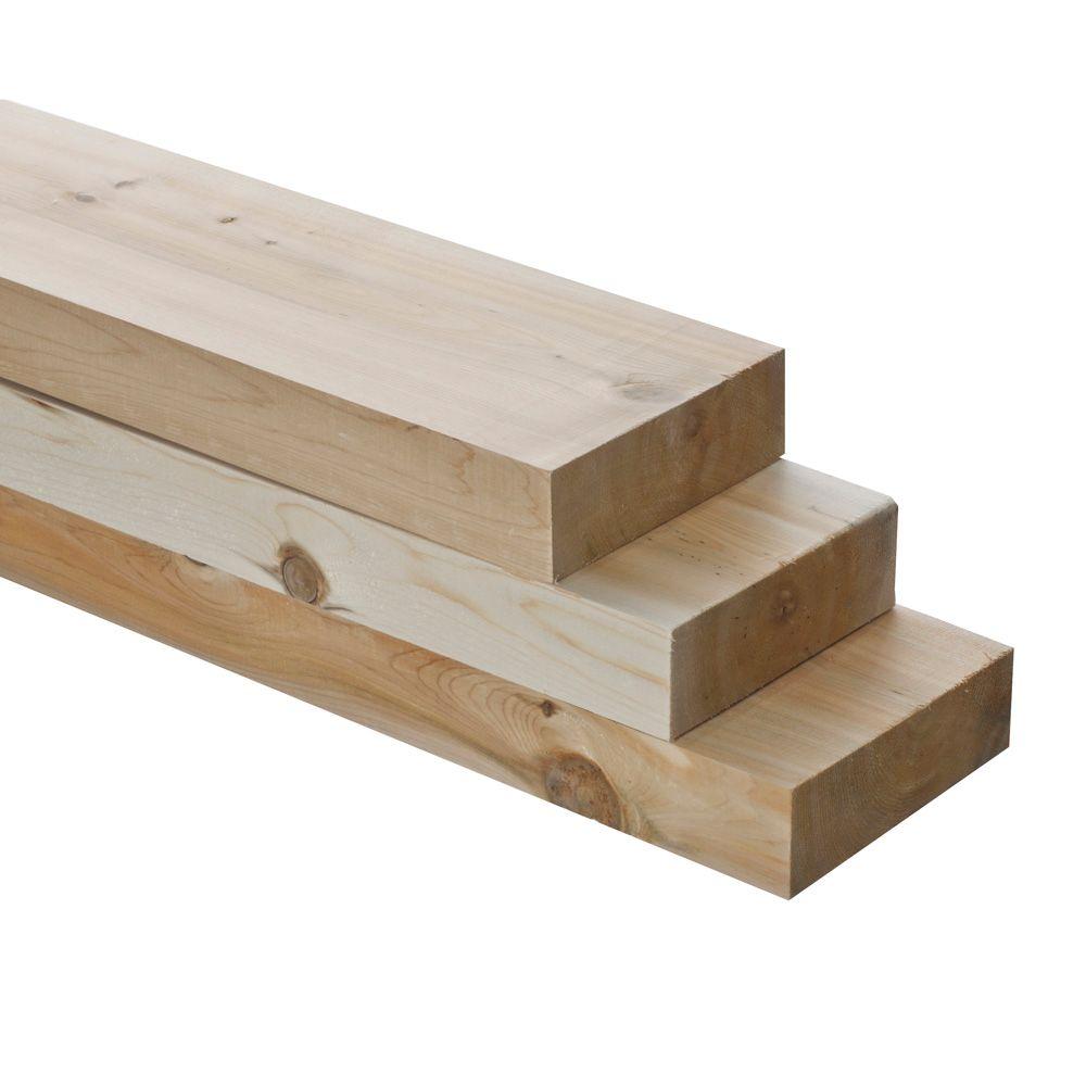 Irving 2x6x8 Knotty Eastern White Cedar