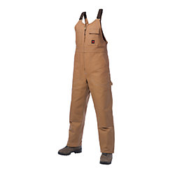 Tough Duck Unlined Bib Overall Brown Medium