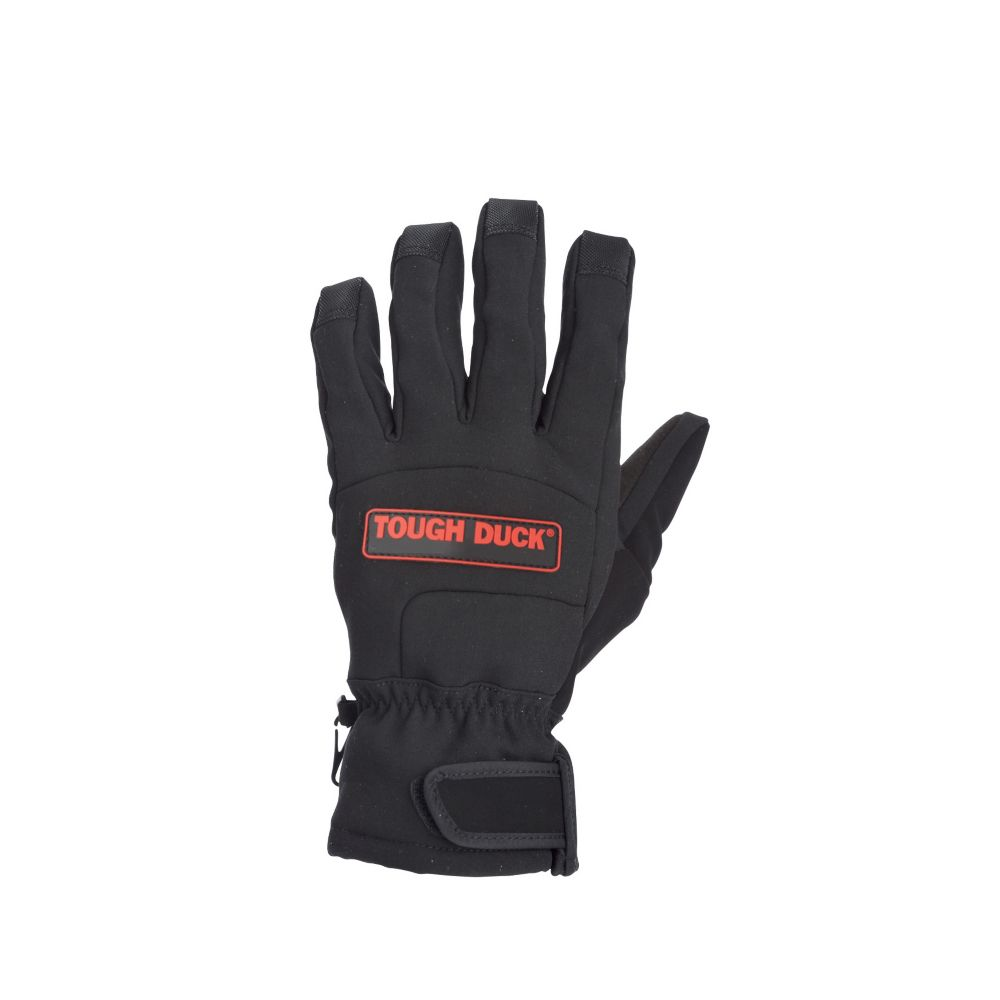 Precision Fit Soft Shell Glove Black Large