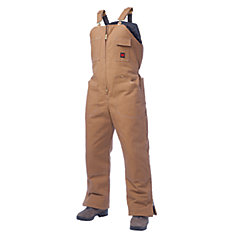 Insulated Bib Overall Brown 3X Large