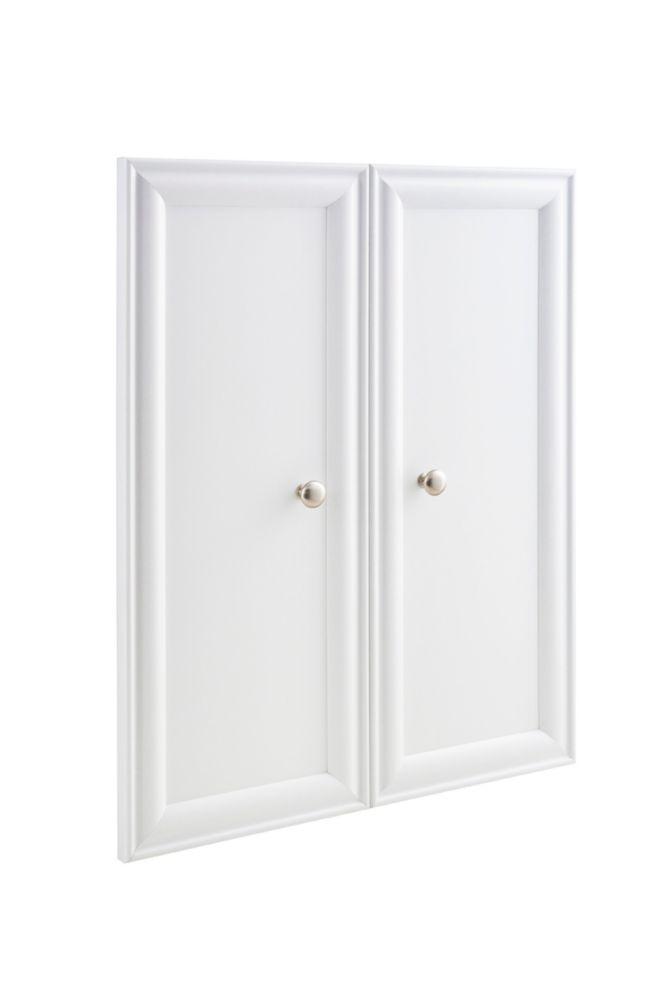 ClosetMaid 30-inch x 23.5-inch ClosetMaid Selectives Decorative Panel Doors