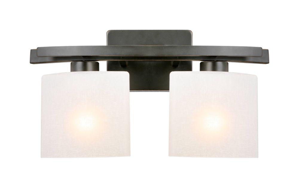 Ettrick 2-Light Vanity Fixture