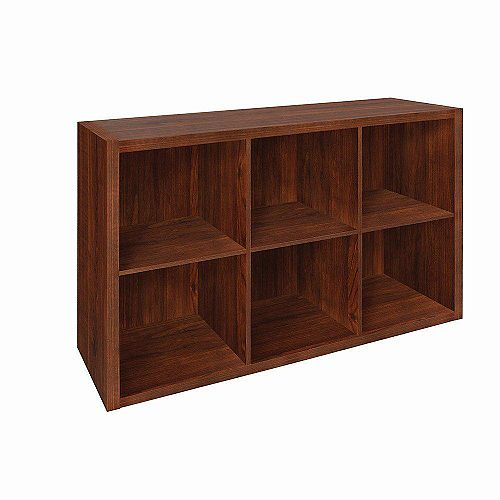 ClosetMaid Decorative 6-Cube Dark Cherry