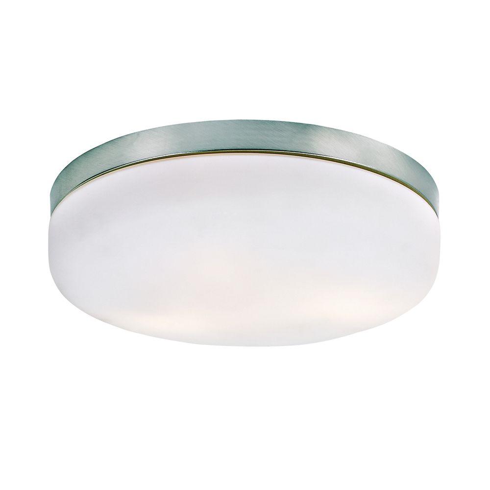 Luminaire affleurant classique, rond - grand