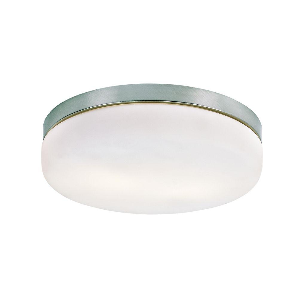 Luminaire affleurant classique, rond - moyen