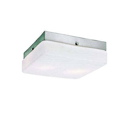 Luminaire affleurant classique, carré - grand