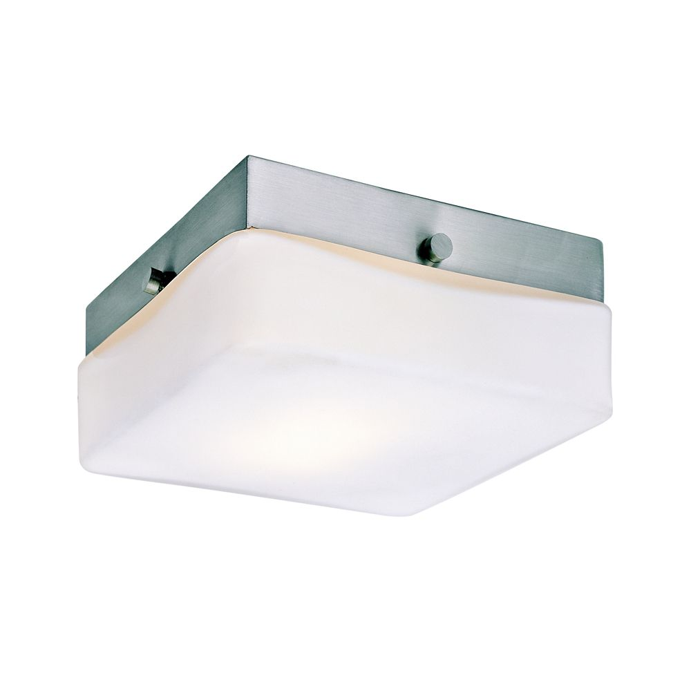 Luminaire affleurant classique, carré - moyen
