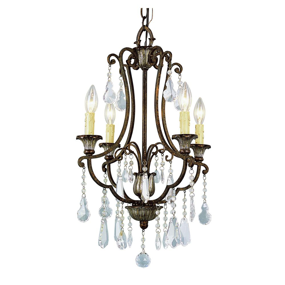 Bel Air Lighting Oiled Bronze Chandelette