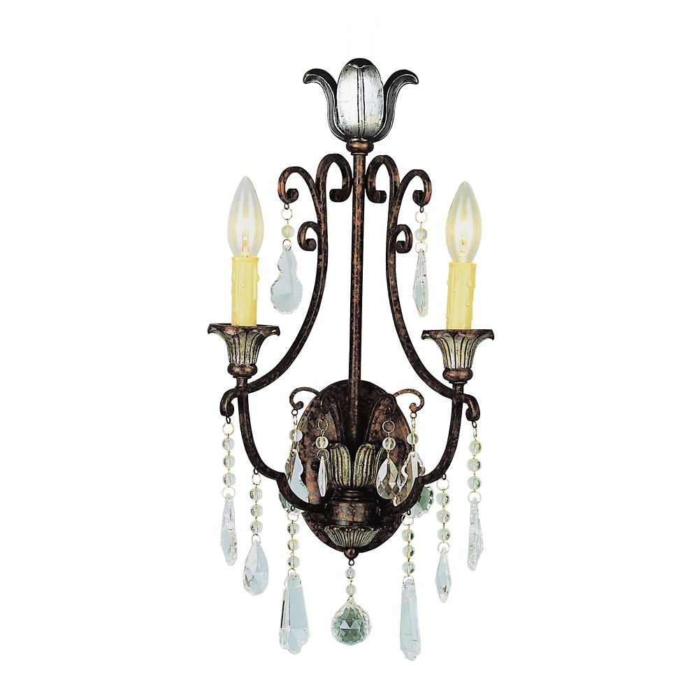 Bel Air Lighting Oiled Bronze Wall Sconce