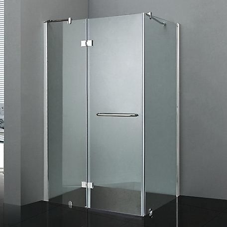 Malta bath california ii 36 inch x 48 inch shower door the home california ii 36 inch x 48 inch shower door planetlyrics Gallery