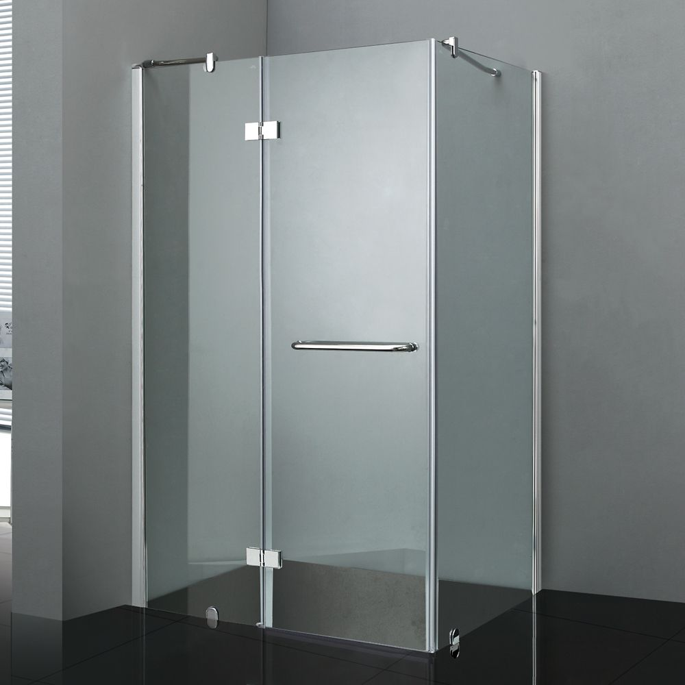 Jade Bath Regal 48-Inch Shower Door with Base | The Home Depot Canada