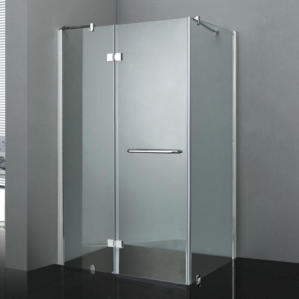 Jade Bath California II 36-Inch  x 48-Inch  Shower Door