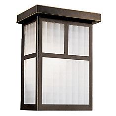 Bronze Box Frame 9 inch Deck Light