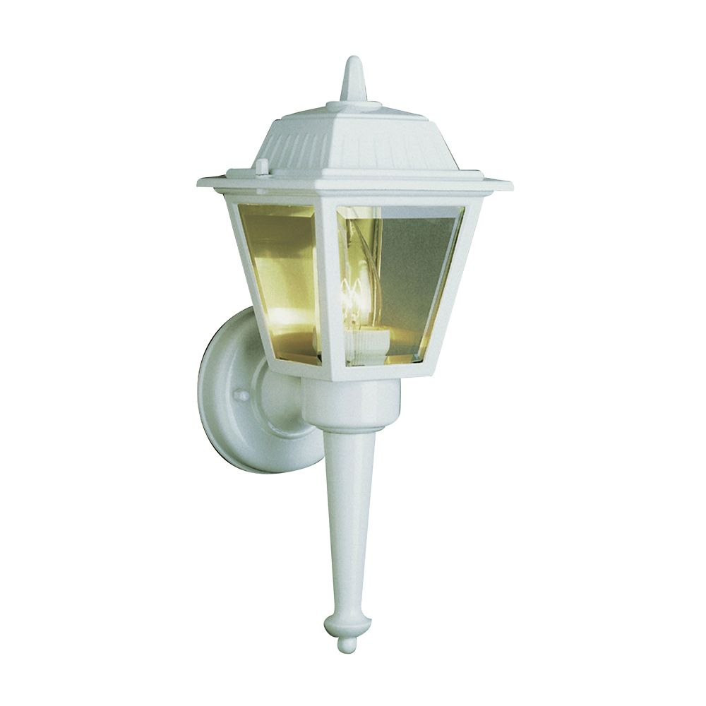 White Cap and Tail Wall Lantern