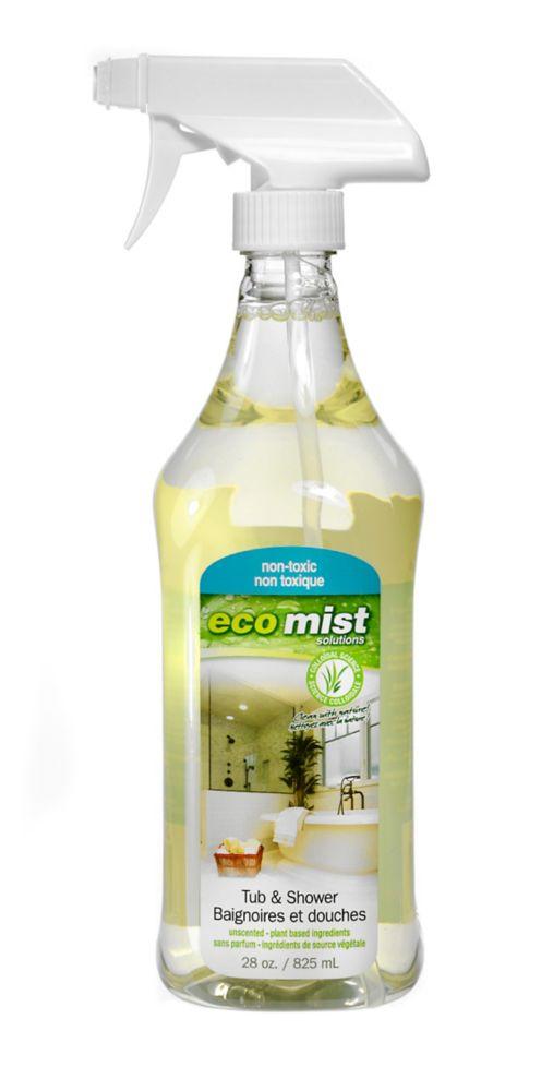 Eco Mist Tub & Shower 825 ml Spray Bottle - 6 Pack