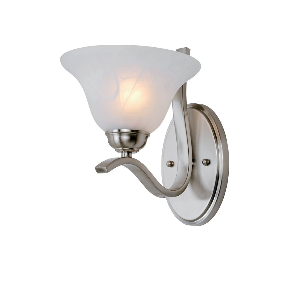 Bel Air Lighting Nickel Arch Wall Sconce