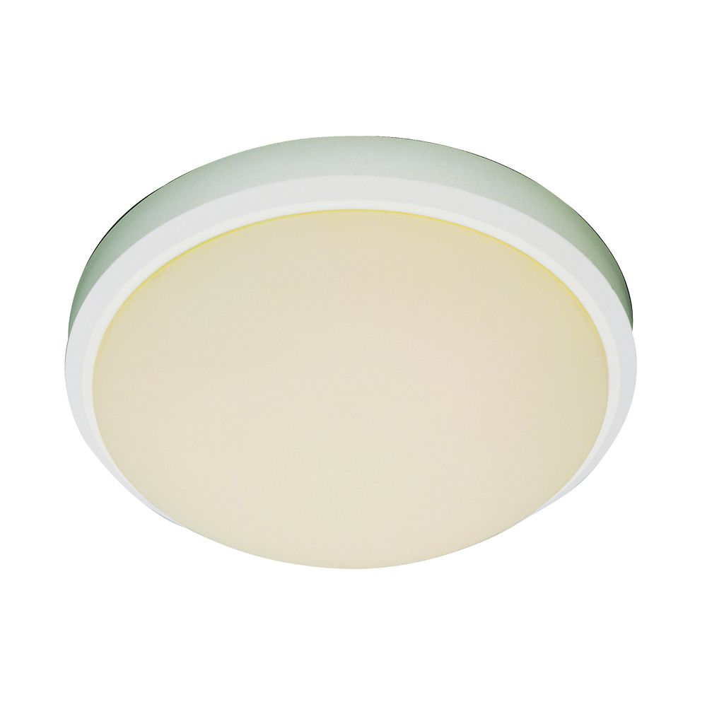 Bel Air Lighting White Rim 15 inch Flush Mount