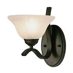 Bel Air Lighting Bronze Arch Wall Sconce