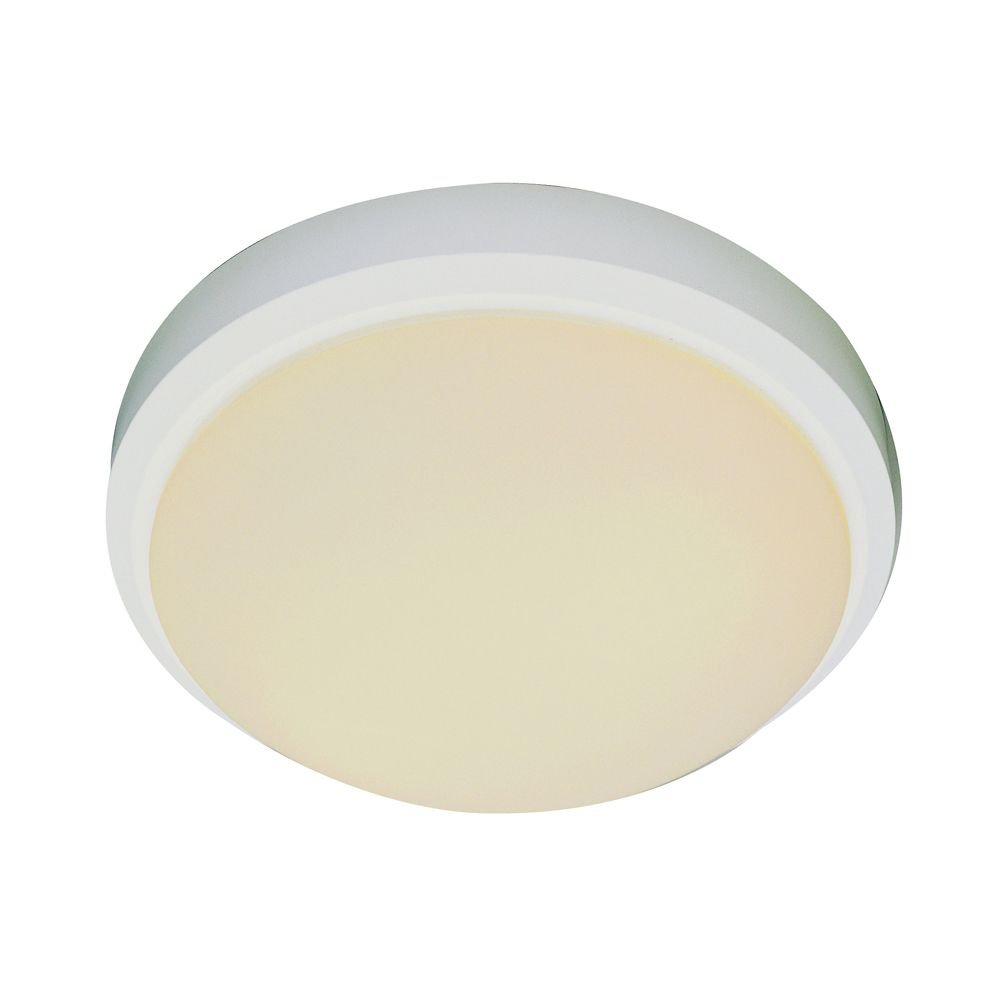 Bel Air Lighting White Rim 13 inch Flush Mount