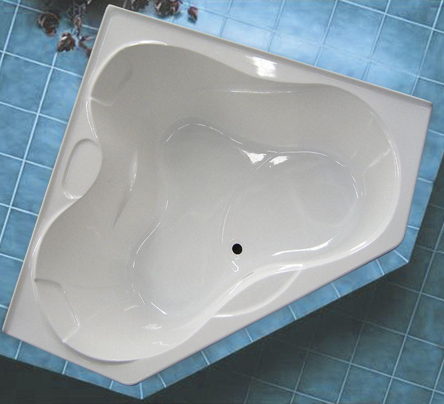 Harbour 5 Feet Corner Acrylic Bathtub