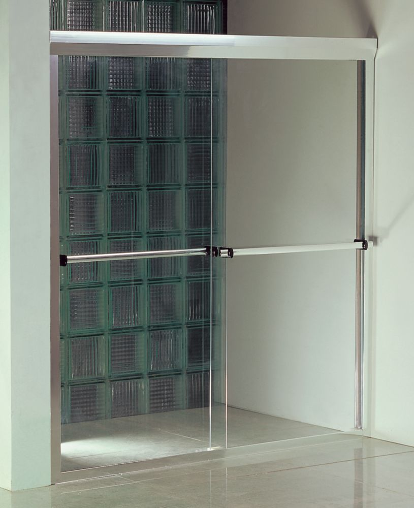 Terrace 60-Inch  Shower Door with Base