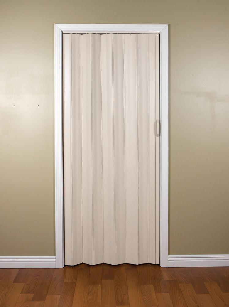 24 Inch To 36 Inch Sienna Cottage White Accordion Bifold Door