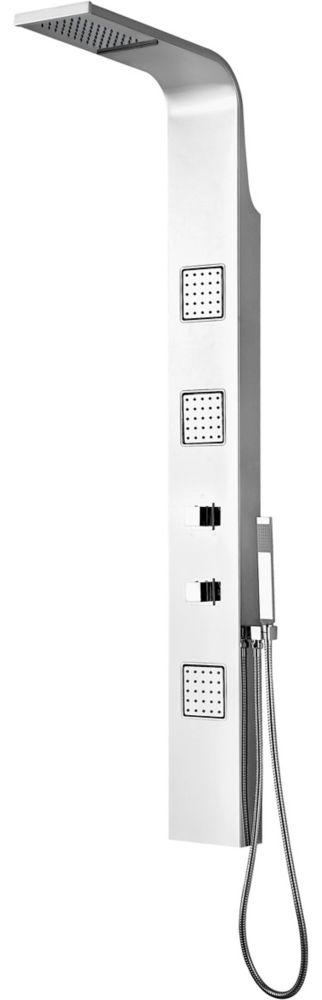 Riviera Shower Column with Micro Jets and Hand Shower