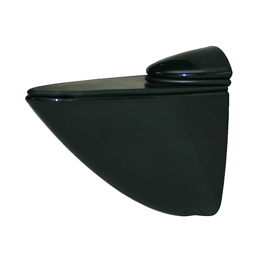 Home Decorators Collection 2.5 -inch H x 1.25 -inch W x 3 -inch D Black Pelican Bracket