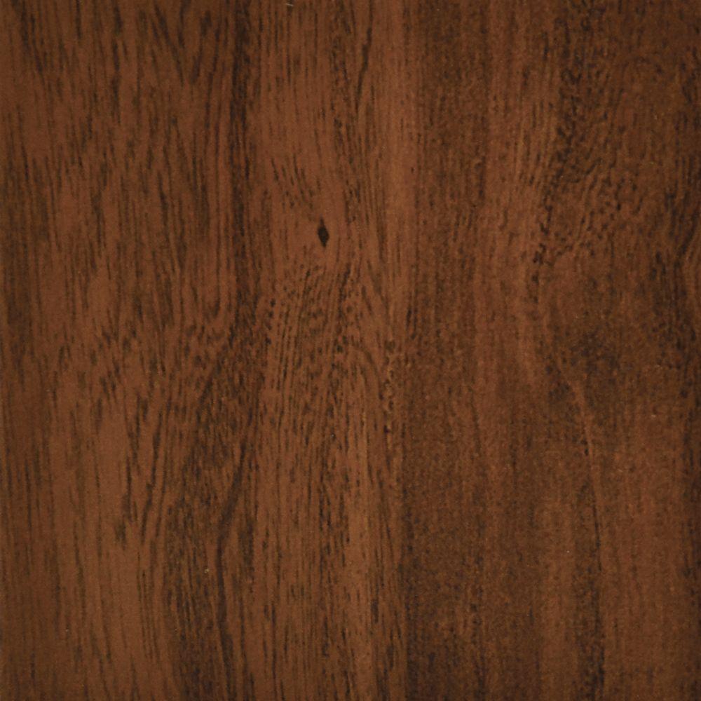 7.5 inch x 47.6 inch Red Mahogany Luxury Vinyl Plank Flooring - Sample