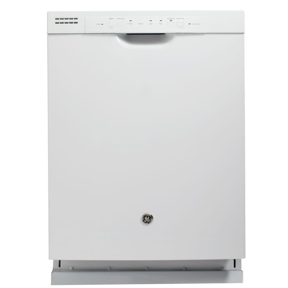 24-inch Built-In Tall Tub Dishwasher in White