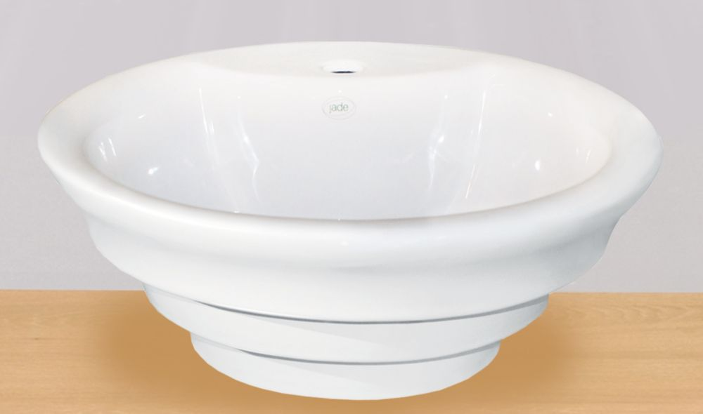 Cally Vessel Sink in White