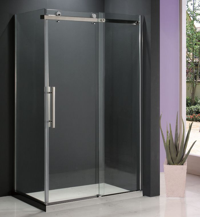 Riga II 36Inchx48Inch Shower Door with Return Panel (Base not Included)