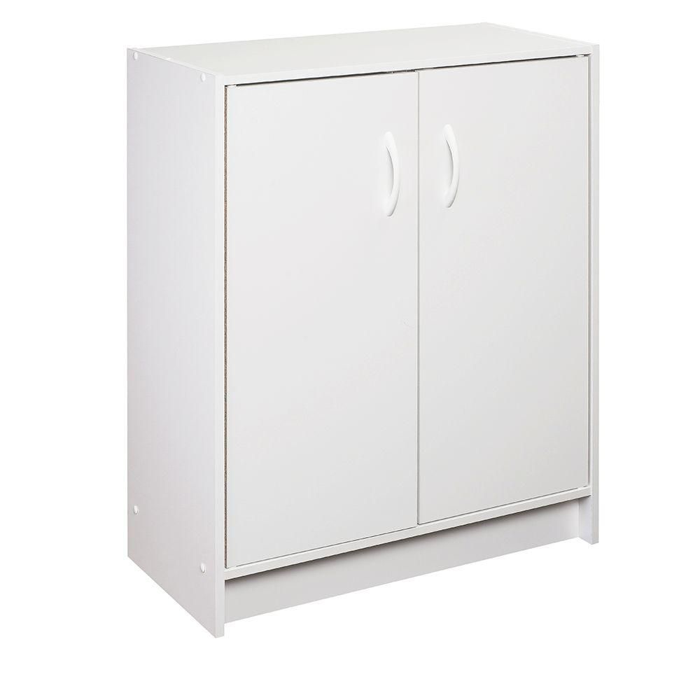 ClosetMaid ClosetMaid 30 in. H x 24 in. W x 12 in. D White Raised Panel Wall Storage Cabinet