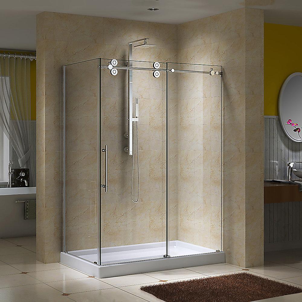 Jade Bath Regal Ii 10mm Clear Glass 36 Inch X 48 Inch