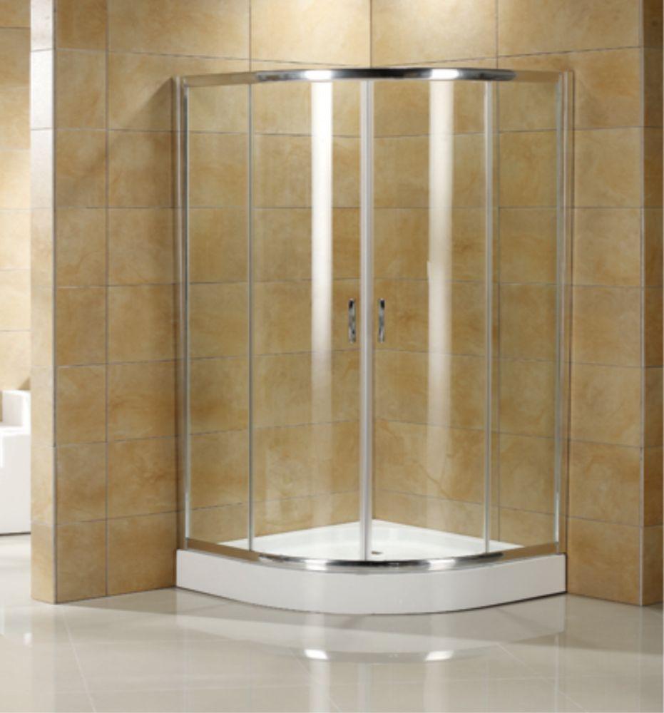 Round Sliding Door Design: Jade Bath Tribeca 36Inchx36Inch Neo Round 2-Panel Sliding