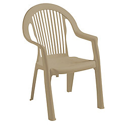Gracious Living Newport Chair in Sandstone