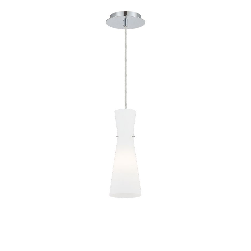 Strata Collection 1 Light Chrome Pendant