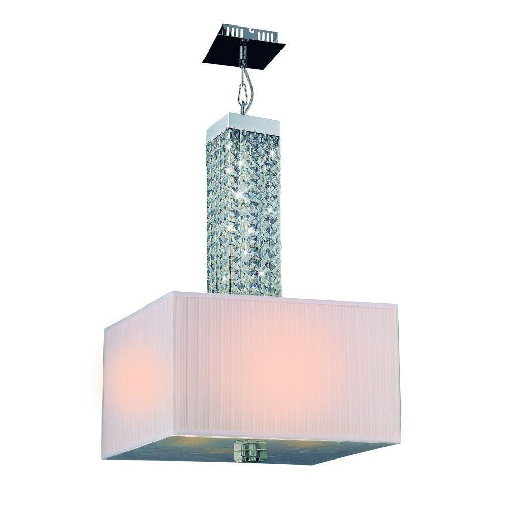 Luminaire Suspendue à 4 Lumières, Collection Tobias