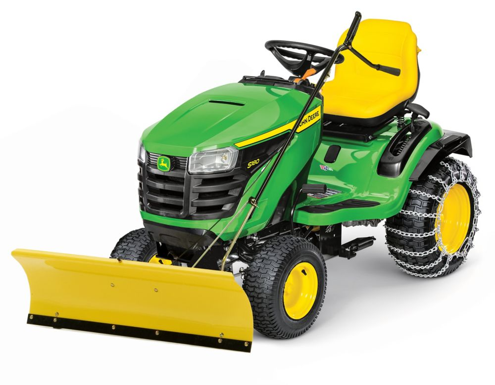 John Deere 46-inch Front Blade Attachment for Lawn Tractors