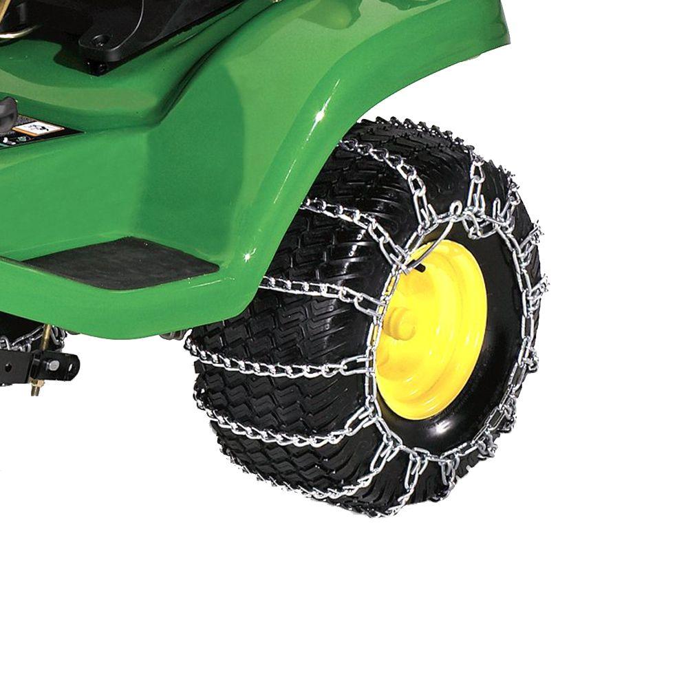 22-inch Rear Tire Chains (John Deere Model: D170)