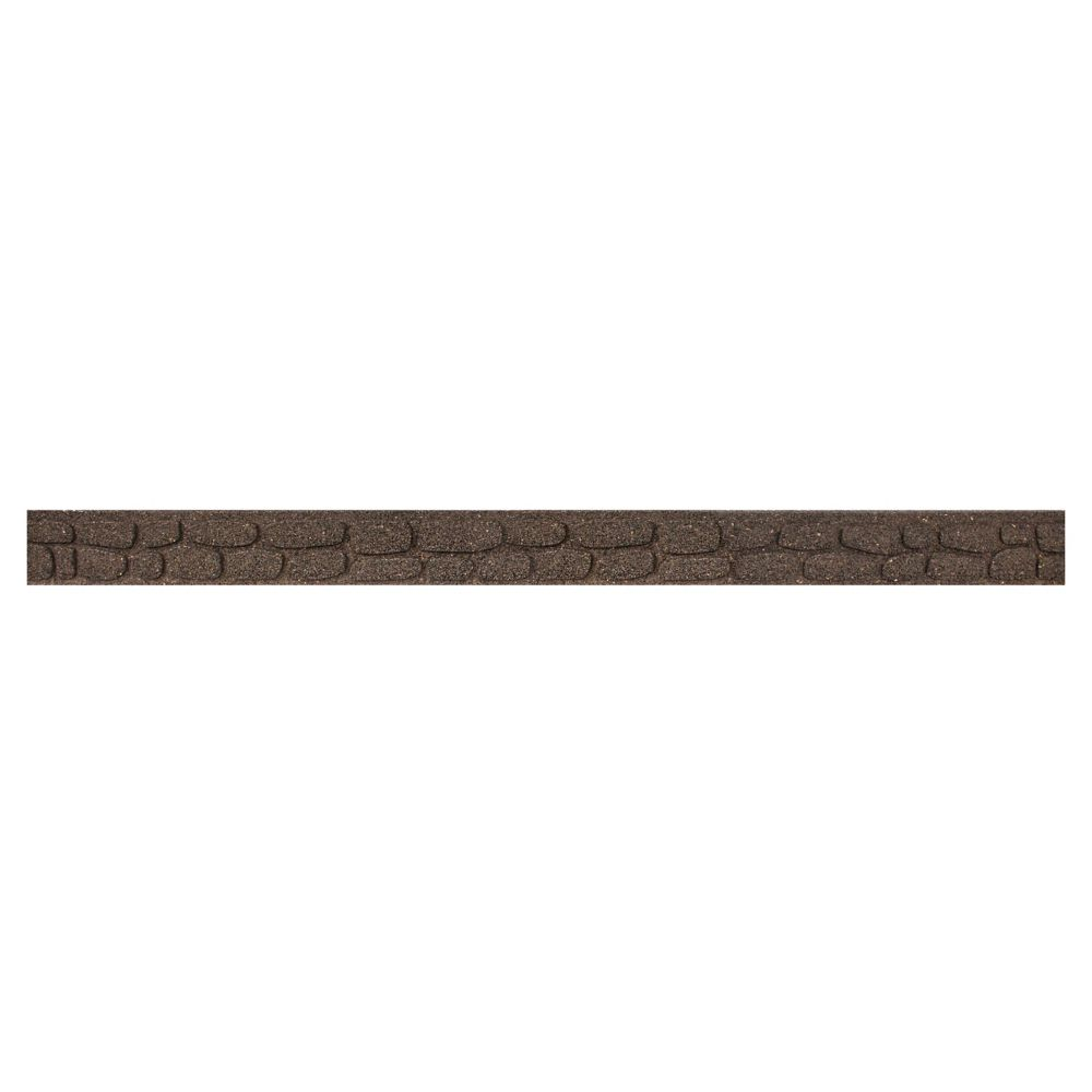Ecotrend 3 1/2-inch x 48-inch Flexi-Curve Rockwall Earth Edger