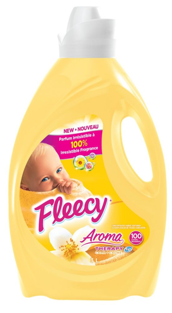 Assouplissant Fleecy* Aroma Therapy Calme, 3L