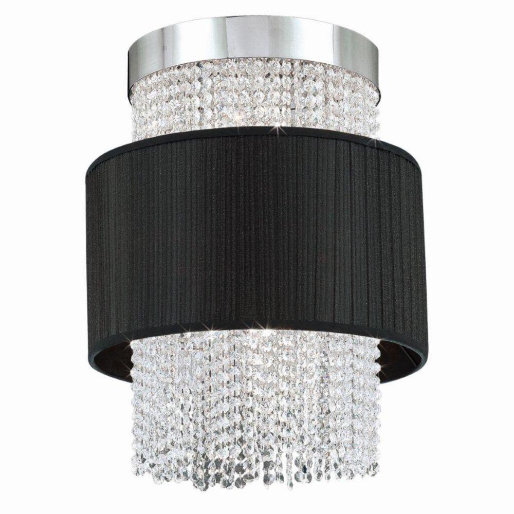 Harmoni Collection 6 Light Chrome & Black Pendant