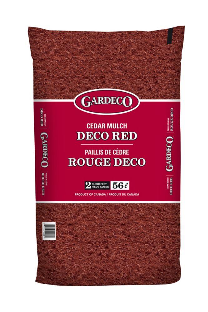 Gardeco Red Cedar Mulch - 2 cft