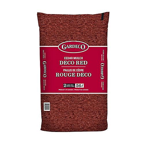 Paillis de cèdre Rouge Gardeco - 2 pi.cu.