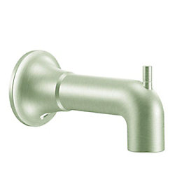 MOEN Icon Diverter Tub Spout in Brushed Nickel